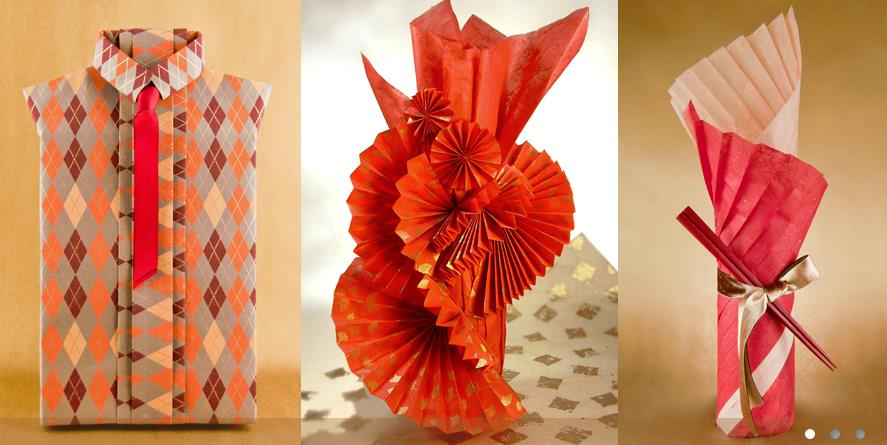 Artistic wrapping