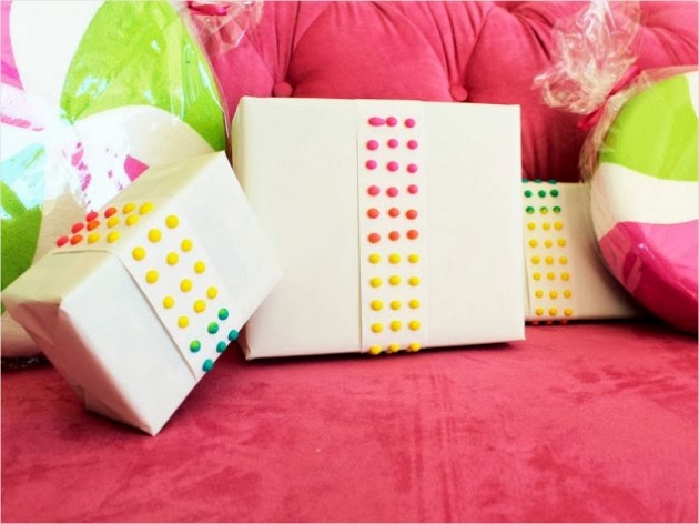 Cute gift wrapping ideas for birthdays