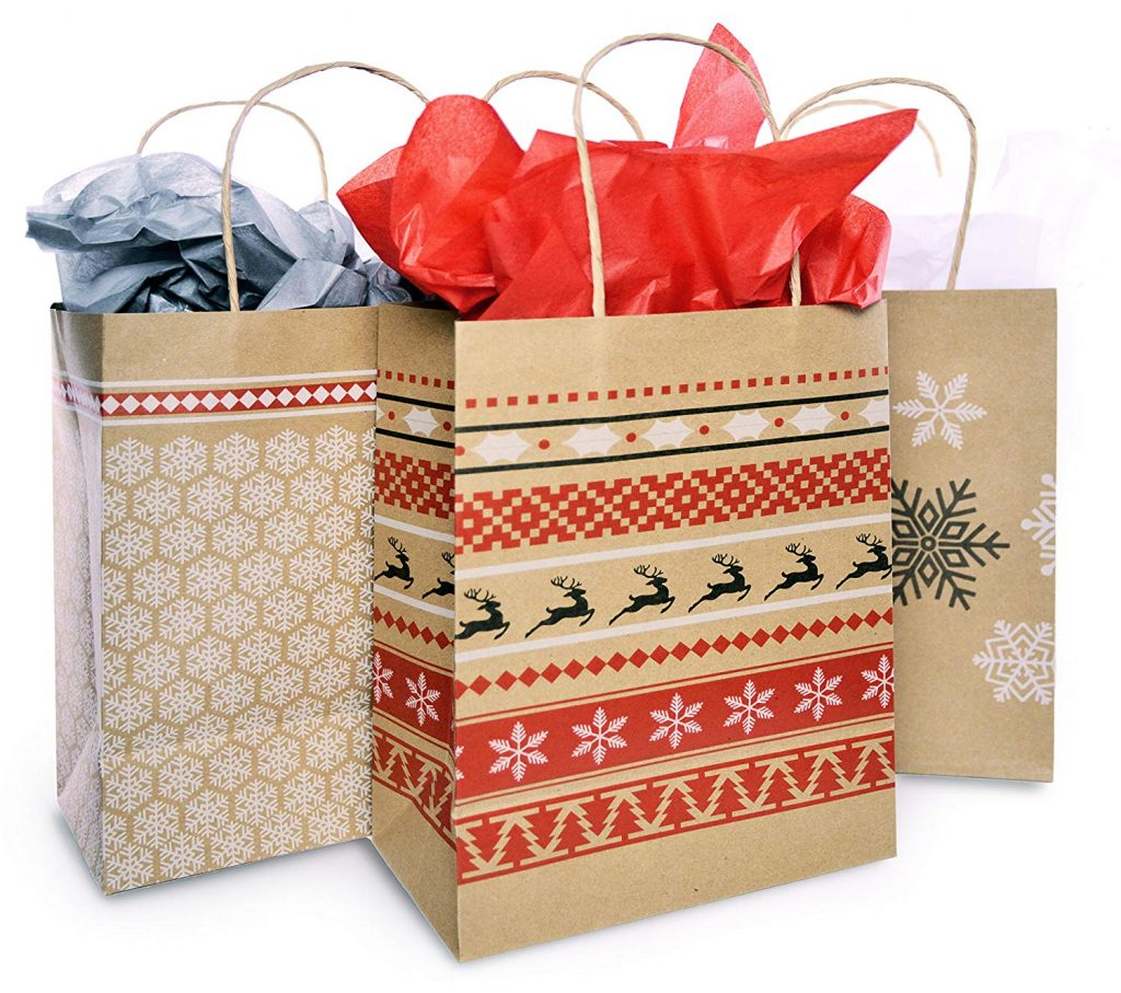 Holiday Paper Bags