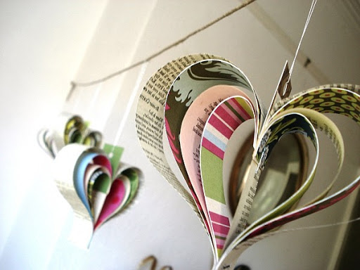 Newspapers decoration