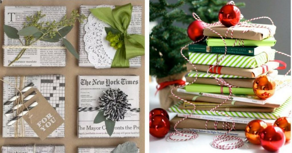 Paperback Wrapping Idea